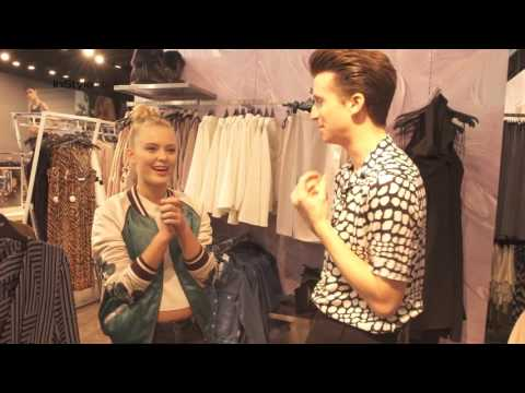 Zara Larsson's Topshop Haul | Joshington Hosts | InStyle