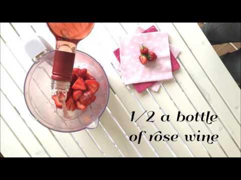 FROSE- Frozen Rose Recipe