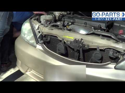 Replace 2002-2006 Toyota Camry Headlight / Bulb, How to Change Install 03 04 05 TO2503137