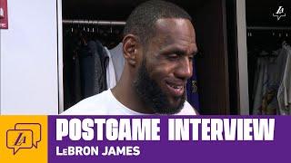Lakers Postgame: LeBron James (3/8/20)