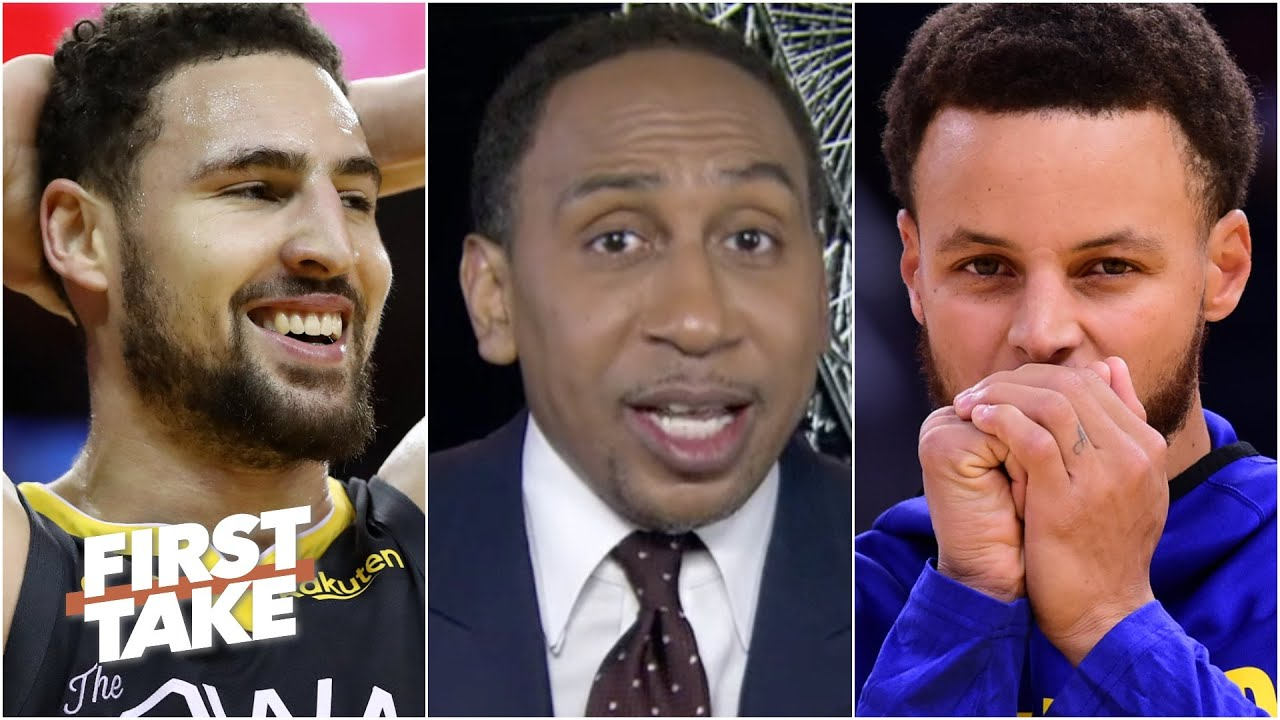 Stephen A. gets hyped for the Splash Bros & says the Warriors can dethrone the Lakers   First Take