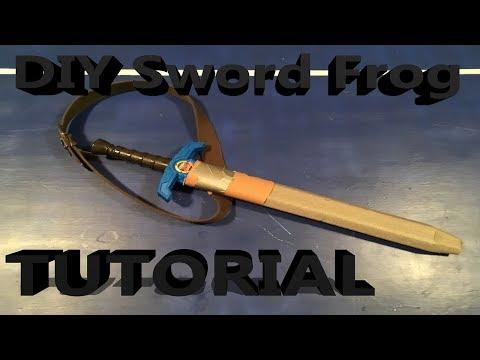 DIY Nerf Tactical Gear- Sword Sheath