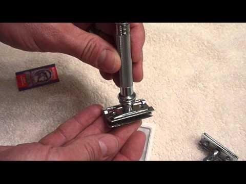 Merkur Safety Razor Blade Change - Safety Razor Ease of Use