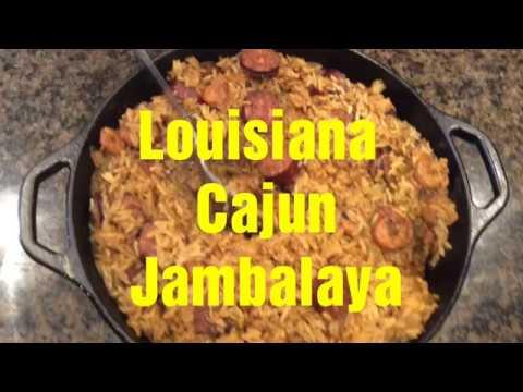 Jambalaya, By Louisiana Cajun Chef Brett Hebert,  Shrimp, Crab, Andouille Sausage