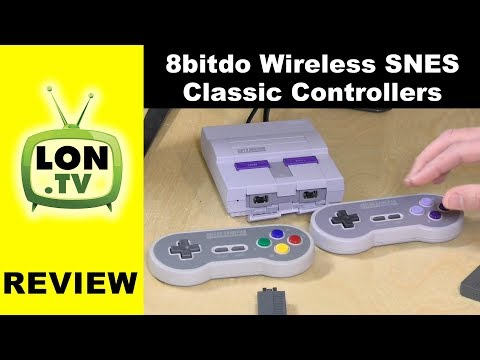 Review: 8Bitdo SN30 / SF30 2.4G Wireless Controller for SNES Classic Edition
