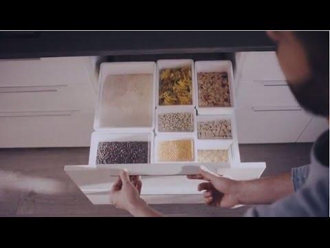 TILLSLUTA Dry food storage and organizing