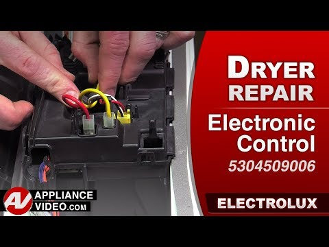 Electrolux Dryer - Electronic Control - Diagnostic & Repair