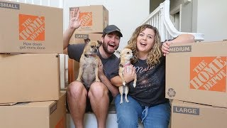 moving into our new house (it was a lil crazy, but we did it!)