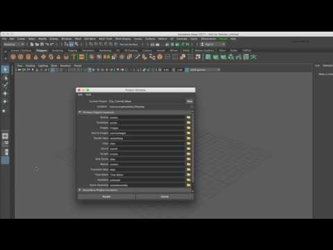 CGI 3D Tutorials : Cinema 4D to Maya 2017 Growing a City Part 1 Introduction