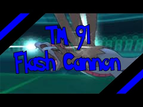 How To Get TM 91 - Flash Cannon In Omega Ruby and Alpha Sapphire (Oras)