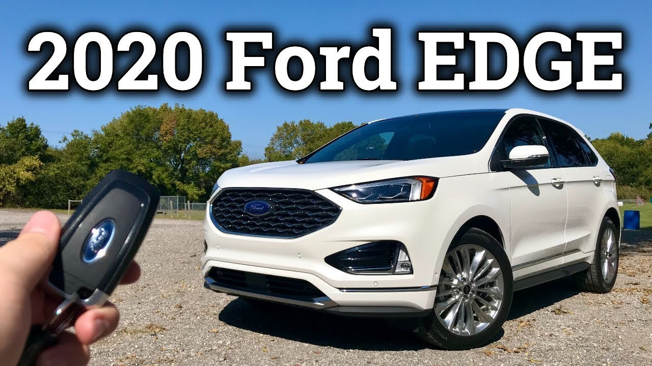 2020 Ford Edge Review | Ford's Practical 2-Row