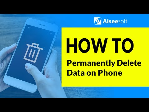 How to Permanently Delete Contacts, Text Messages, Music, Call History and Notes on Phone