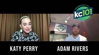 KC101's Adam Rivers interviews Katy Perry