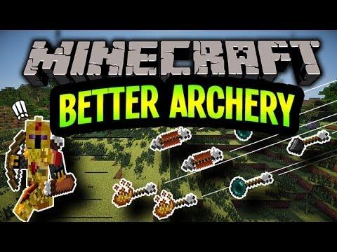 [FR]-Better Archery : Présentation de mods-[Minecraft 1.6.4]