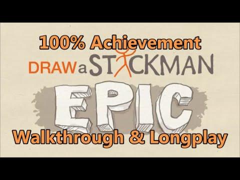Draw a Stickman: Epic - 100% Achievement Walkthrough & Longplay