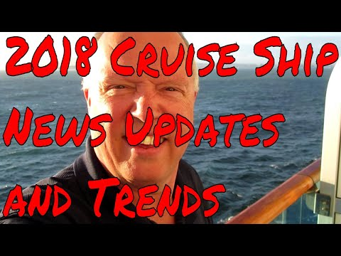 Cruise Ship News Updates and Trends It's Cruise Ship and Travel Trivia Day! Oh My! Plus a Q and A!