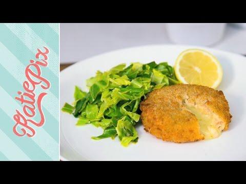 Lemony Spring Greens Recipe with Salmon & Cod Fishcakes | #AD | Katie Pix