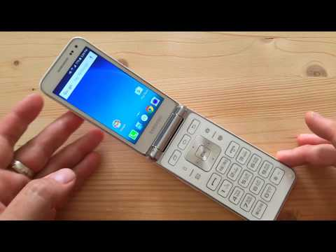 Samsung Galaxy Folder Android flip-phone review (live)