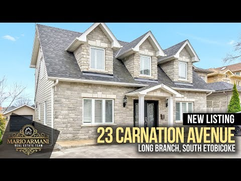 JUST LISTED! 23 Carnation Avenue in Long Branch South Etobicoke (Toronto, Canada)