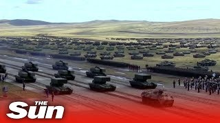 Vostok 2018: Russia and China show off their forces