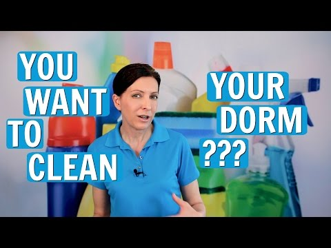 How To Clean a Dorm - Cleaning Systems for College Kids