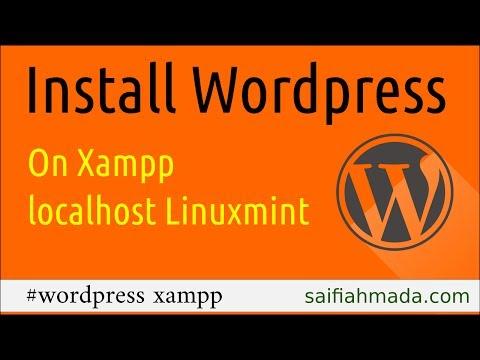 install wordpress on xampp linuxmint