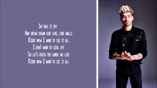 Zayn   Borderz Lyric Video