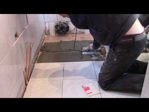 How to do Tiling on wooden  floor  18 mm plywood board