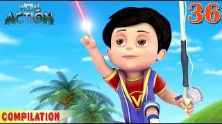 Vir : The Robot Boy | Vir Action Collection - 36 | Action series | WowKidz Action