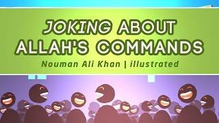 Joking About Allah