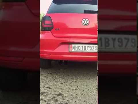 Volkswagen Polo GT TSI 1.2 exhaust note. Non resonated borla end can and magnaflow racecat.