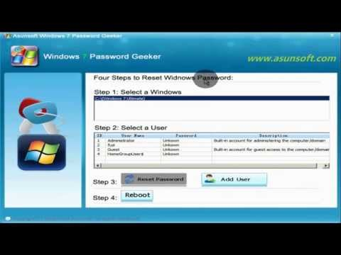 Windows 7 Reset Password without Disk