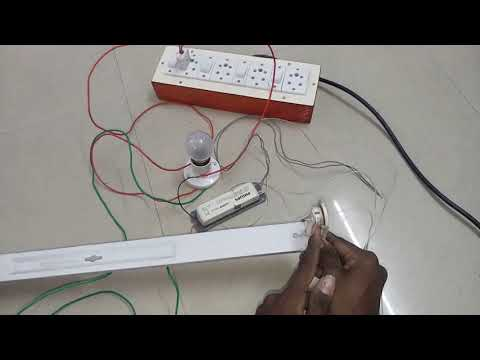 how to check tubelight Electronic choke is working