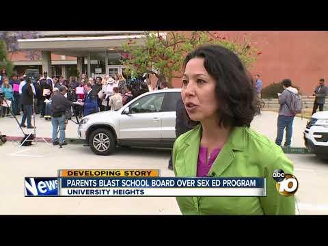 Parents blast school district over sex-ed program