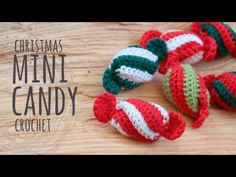 Tutorial Crochet Christmas Mini Candy