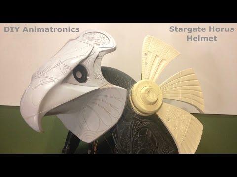 DIY Animatronics Episode 4: Stargate Horus helmet