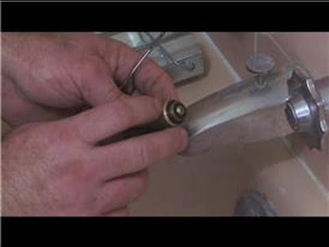 Bathroom Fix-It Tips : How to Replace Washers in a Tub Valve