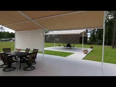 Retractable Patio Cover, Retractable Patio Roofing System - Venetian Builders