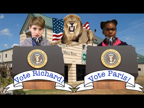 Student body president school election videos!