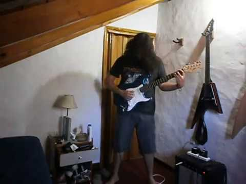 Obituary - Back From The Dead (guitar cover)