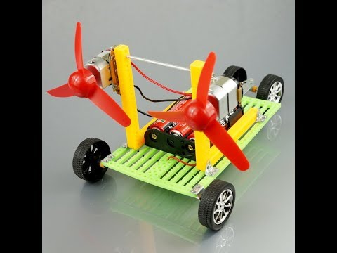 How to Make a Electric Toy Car at Home Easy with DC motor.