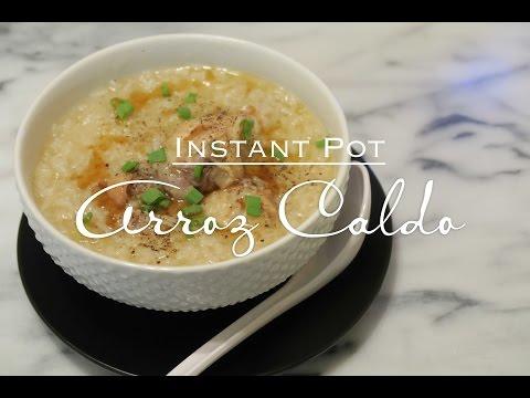 Arroz Caldo -  Instant Pot
