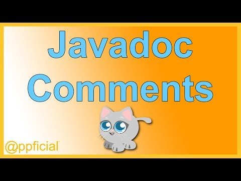 Writing Javadoc Comments and creating an API with the Javadoc Tool on Eclipse - Java - Appficial