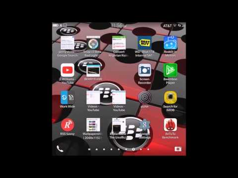 Blackberry tips and tricks how to delete apps OS10