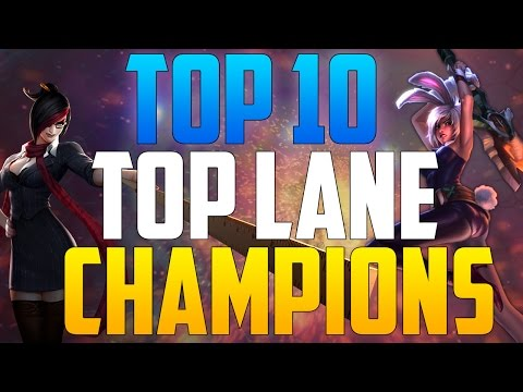 Top 10: Top Lane Champions League of Legends November 2014