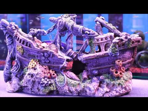 FishFishFish Aquarium Ornaments, Artificial Plants & Gravel