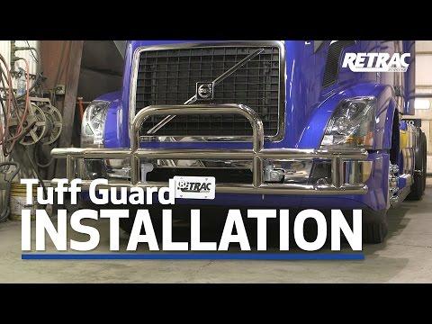 RETRAC │Tuff Guard® Grille Guard Install