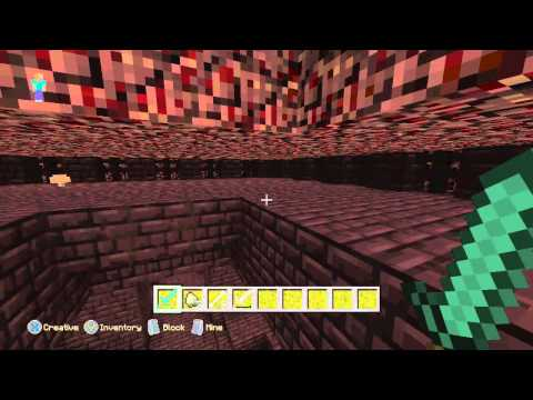 Minecraft Xbox One/360 TU19 - How To Get Wither Skeleton Skulls - Wither Skeletons Spawn