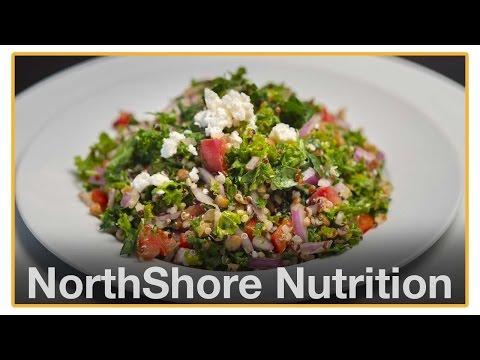 Ep 5 Kale Quinoa Tabbouleh with Lentils: NS Nutrition