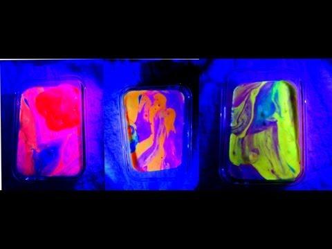 How to make Glow in the dark slime goo gak !